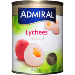 Photo of Admiral Lychees In Syrup 565g