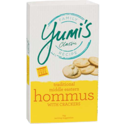 Photo of Yumis Hommus/Crackers 75g