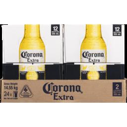 Photo of Corona Extra 2x12 Pack Bottle