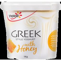 Photo of Yoplait Yoghurt Greek Honey 1kg
