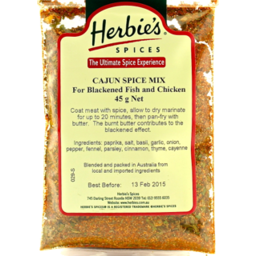 Photo of Cajun Spice 45g