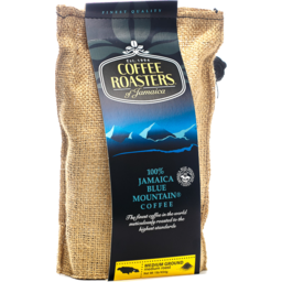 Photo of Blue Mountain Coffee Ground Coffee Burlap Bags