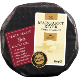 Photo of M/River Blk Label Brie 200g