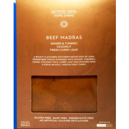 Photo of Beyond India Home Dining Beef Madras 350g