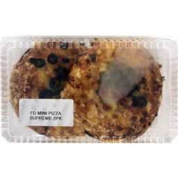 Photo of Mini Supreme Pizza 2 Pack