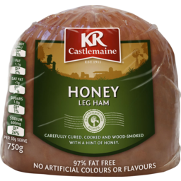 Photo of Kr Castlemaine Krc Honey Boneless Ham 750g