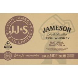 Photo of Jameson Irish Whiskey & Raw Cola Stubbies