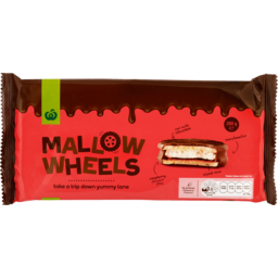 Photo of Select Chocolate Mallow Wheels 200g