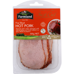 Photo of Farmland Foods Just Cut Hot Pork 100g