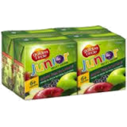 Photo of Golden Circle Jnr Drink Apple 6m+ 4x150ml