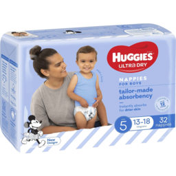Photo of Huggies Walker Boys 32