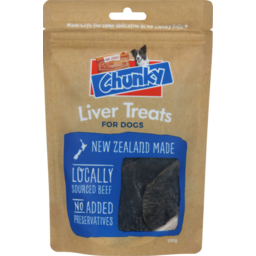 Photo of Chunky Liver Dog Treats 100g