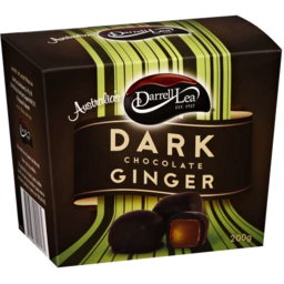 Photo of Darrell Lea Ginger Dark Chocolate 200g