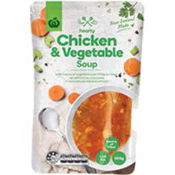 Photo of WW Fresh Soup Pouch Chicken & Vegetable 500g