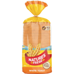 Photo of Natures Fresh Bread White Toast 700g