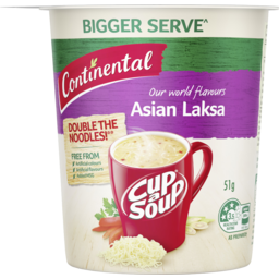 Photo of Continental Soup Cup Cup-A-Soup Asian Laksa 51g