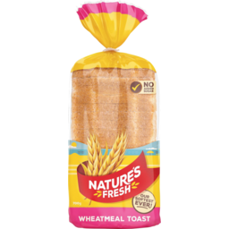 Photo of Natures Fresh Bread Wheatmeal Toast 700g