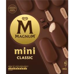 Photo of Magnum Mini Classic 6 Pack 360ml
