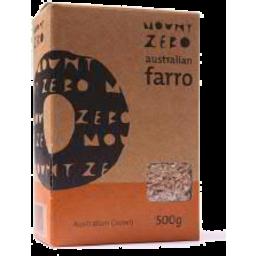 Photo of Mt/Zero Pearled Farro 500g