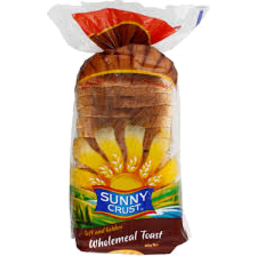 Photo of Sunny Crust Wholemeal Toast 600g