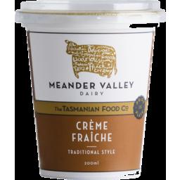 Photo of Meander Valley Creme Fraiche 200