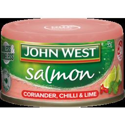 Photo of John West Salmon Coriander, Chilli & Lime 95g 95g