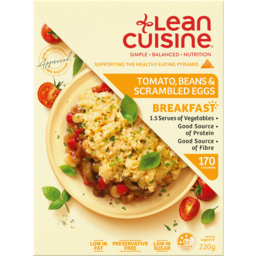 Photo of Lean Cuisine Breakfast Tomato, Beans & Scrambled Eggs 220gm