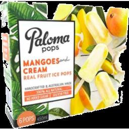 Photo of Paloma Pops Mango Cream 6x450ml