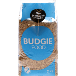 Photo of Feathered Friends Budgie Food 2kg
