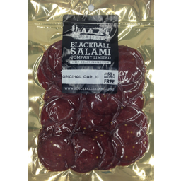 Photo of Blackball Original Garlic Salami 100g