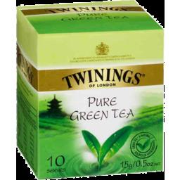 Photo of Twinings Pure Green Tea 10pk 15gm