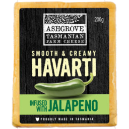 Photo of Ash Grove Havarti Jalapeno 200g