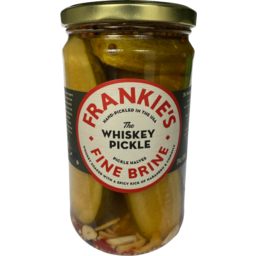 Photo of Frankies Fine The Whiskey Pickle 680g
