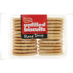 Photo of Kayes Unfilled Biscuits Rasp Drops 330g