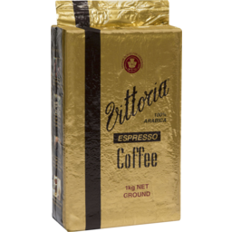 Photo of Vittoria Coffee Espresso Ground Coffee 1kg