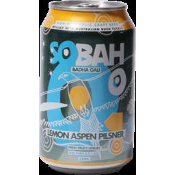 Photo of Sobah Lemon Aspen Pilsner