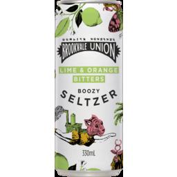 Photo of Brookvale Union Seltzer Lime & Orange Bitters Can