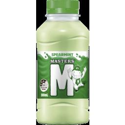 Photo of Masters Spearmint Flavoured Milk 300ml Btl (6)