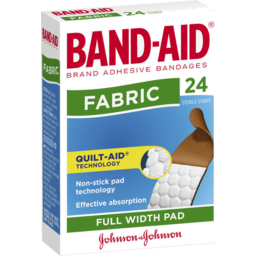 Photo of Band-Aid Fabric Full Width Pad 24 Pack