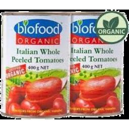 Photo of Bio Food Org W/Peel Tom 400g