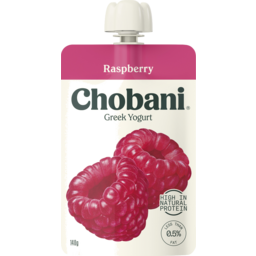 Photo of Chobani Greek Yoghurt Raspberry 140g