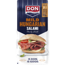 Photo of Don Thinly Sliced Hungarian Mild Salami 180g
