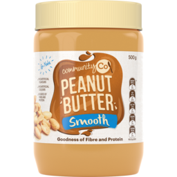Photo of Community Co Peanut Butter Smooth 500g