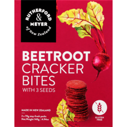 Photo of Rutherford & Meyer Crackerbites Beetroot With 3 Seeds