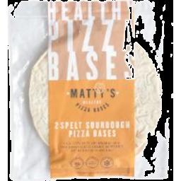Photo of Matty's Pizza Bases - Spelt Sourdough (2 Pack)