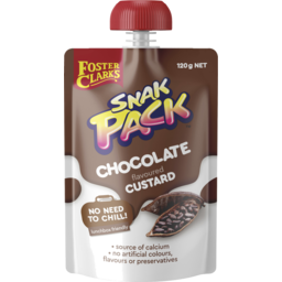 Photo of Foster Clark's® Snak Pack™ Chocolate Flavoured Custard 120g