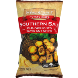 Photo of Heartland Potato Chips Southern Salted 150g