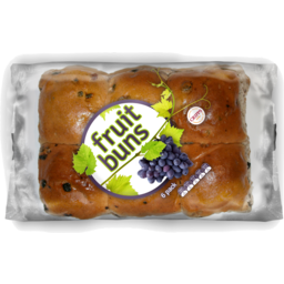 Photo of Cripps NuBake Fruit Buns 6 Pack