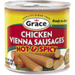 Photo of Grace Vienna Sausage - Hot & Spicy