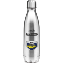 Photo of Milton Stainless Steel Uni-steel Shine Water/Juice Bottle 1L